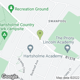 Map of Vulcan Fire & Security Ltd in Lincoln, lincolnshire