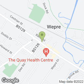 Map of Quay Veterinary Service in Connahs Quay, clwyd