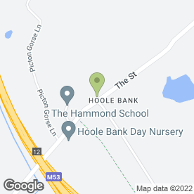 Map of Hoole Bank Day Nursery Ltd in Chester, cheshire