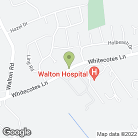Map of Hair & Make-Up Artist in Chesterfield, derbyshire