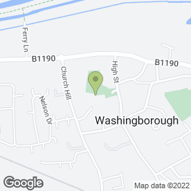 Map of WASHINGBOROUGH HALL HOTEL in Washingborough, Lincoln, lincolnshire