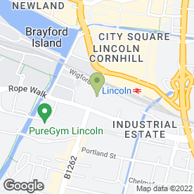 Map of ROWLETTS in Lincoln, lincolnshire