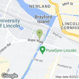 Map of Brand Four Ltd in Lincoln, lincolnshire