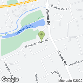 Map of The Drum Factory in Chesterfield, derbyshire