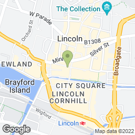 Map of SPRINGBOK GAMES CONSOLES in Lincoln, lincolnshire