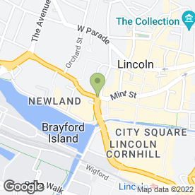 Map of NEW LIFE CONFERENCES in Lincoln, lincolnshire