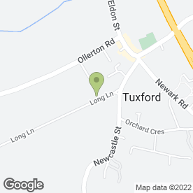 Map of C.Duncan Kitchen Fitting Services in Tuxford, Newark, nottinghamshire