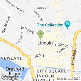 Map of Philips Jewellers in Lincoln, lincolnshire