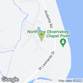 Map of Kev's Handy Van in Chapel St. Leonards, Skegness, lincolnshire