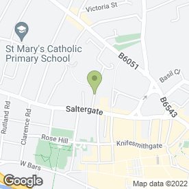 Map of Andrew Feeney Drum Tuition in Chesterfield, derbyshire