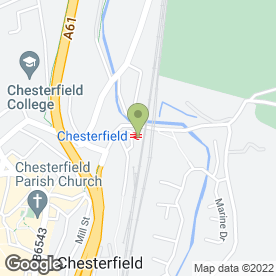 Map of Compass SSP in Chesterfield, derbyshire