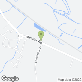 Map of Bryn Thomas Cranes Ltd in Oakenholt, Flint, clwyd