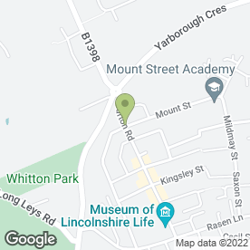 Map of Burton Road Surgery in Lincoln, lincolnshire