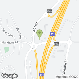 Map of DRKA ECU Remapping Specialists in Duckmanton, Chesterfield, derbyshire