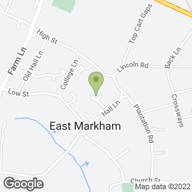 Map of Just U Imagine Weddings in East Markham, Newark, nottinghamshire