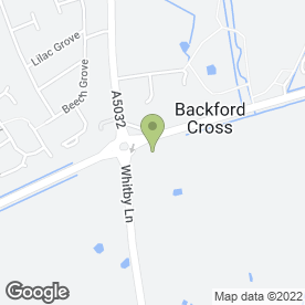 Map of TS Security Solutions in Backford, Chester, cheshire