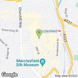Map of Shimmer Hair & Beauty in Macclesfield, cheshire