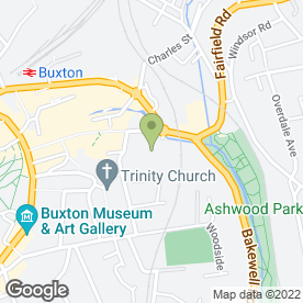 Map of Davies Plant Hire in Buxton, derbyshire