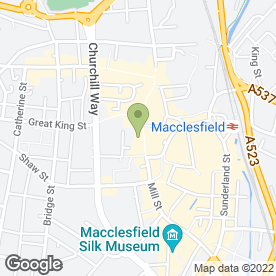 Map of Orange Shop in Macclesfield, cheshire