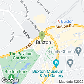 Map of George Garage in Buxton, derbyshire