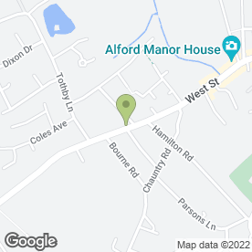 Map of Alford Group of Doctors in Alford, lincolnshire