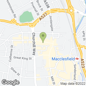 Map of Simply Scrummy in Macclesfield, cheshire