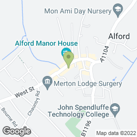 Map of The Kwik E Mart in Alford, lincolnshire