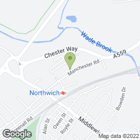 Map of Samaritans in Northwich, cheshire