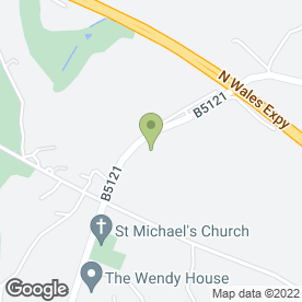 Map of Wendy House & High Fives in Brynford, Holywell, clwyd