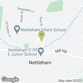 Map of JGQC Solicitors in Nettleham, Lincoln, lincolnshire