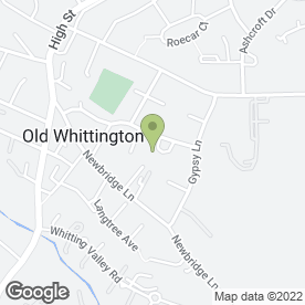 Map of Smith's Security Services in Old Whittington, Chesterfield, derbyshire