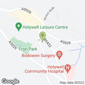 Map of Elite Health & Beauty Therapies (NW) in HOLYWELL, clwyd