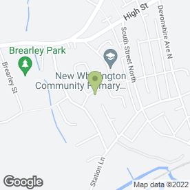 Map of NR Home Improvements in New Whittington, Chesterfield, derbyshire