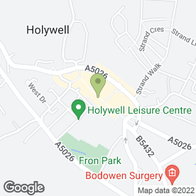 Map of Nationwide Building Society Agency in Holywell, clwyd