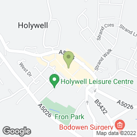 Map of Galw Services Ltd in Holywell, clwyd
