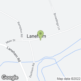 Map of Griffin + Sinclair in Laneham, Retford, nottinghamshire