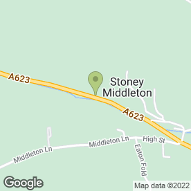Map of Peak Net Ltd in Stoney Middleton, Hope Valley, derbyshire