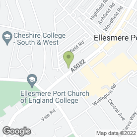Map of CH1 Security Ltd in Ellesmere Port, merseyside