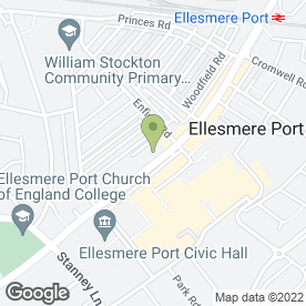 Map of Swinton Car Insurance - Ellesmere Port in Ellesmere Port, merseyside