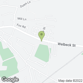 Map of Whitwell Service Station Ltd in Whitwell, Worksop, nottinghamshire