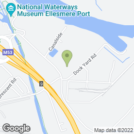 Map of MCa Commercials Ltd in Ellesmere Port, merseyside