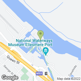 Map of Jabula Restaurant & Coffee Shop in Ellesmere Port, merseyside