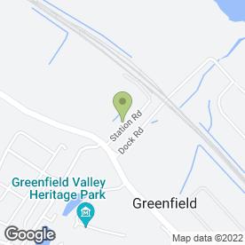 Map of McGILL'S CAR & COMMERCIAL in Greenfield, Holywell, clwyd