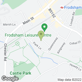 Map of The Knoll Surgery Partnership in Frodsham, cheshire