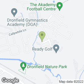Map of Dronfield Motor Spares in Dronfield, derbyshire