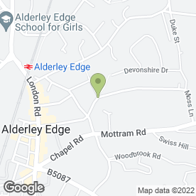 Map of Space2 Ltd in Alderley Edge, cheshire