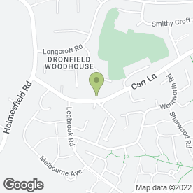 Map of Arnica in Dronfield Woodhouse, Dronfield, derbyshire