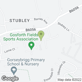 Map of Meadowhead Driving School in Dronfield Woodhouse, Dronfield, derbyshire