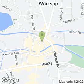 Map of BEAUTIFUL WORKSOP in Worksop, nottinghamshire