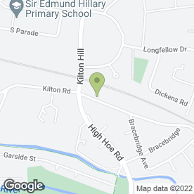 Map of G.D. & Mee Plumbing Services in Kilton, Worksop, nottinghamshire